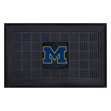 NCAA University of Michigan Medallion Door Mat - 19