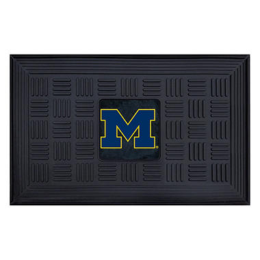 NCAA University of Michigan Medallion Door Mat - 19