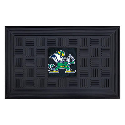"""NCAA Notre Dame Medallion Door Mat - 19"""" x 30"""""""