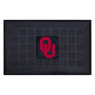 NCAA - University of Oklahoma Medallion Door Mat