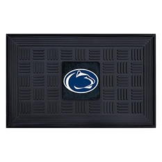 "NCAA Penn State Medallion Door Mat - 19"" x 30"""