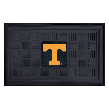 NCAA University of Tennessee Medallion Door Mat - 19