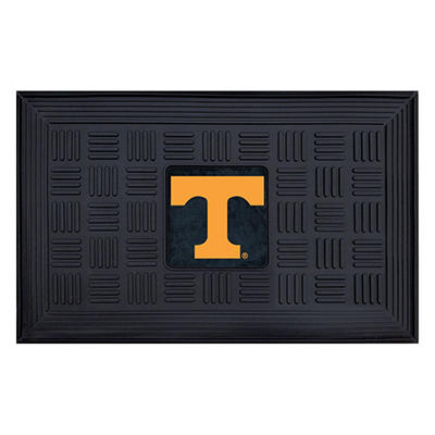 "NCAA University of Tennessee Medallion Door Mat - 19"" x 30"""