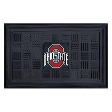 NCAA Ohio State University Medallion Door Mat - 19