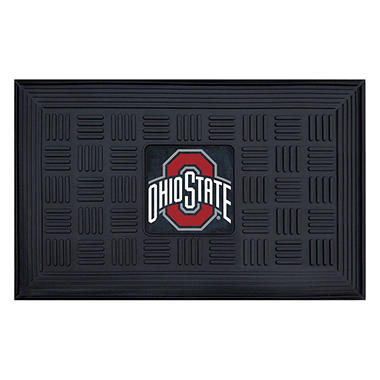 NCAA Ohio State University Medallion Door Mat - 19