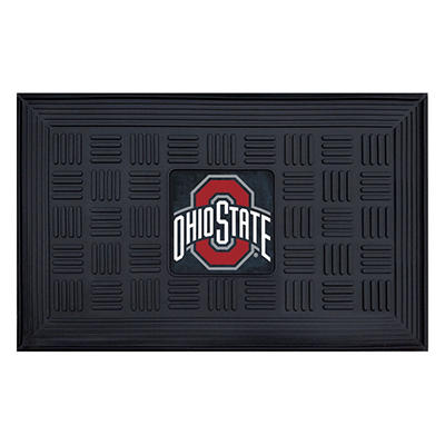 "NCAA Ohio State University Medallion Door Mat - 19"" x 30"""