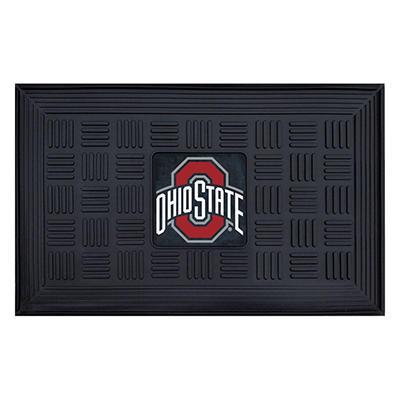 """NCAA Ohio State University Medallion Door Mat - 19"""" x 30"""""""