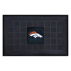 "NFL Denver Broncos Medallion Door Mat - 19"" x 30"""