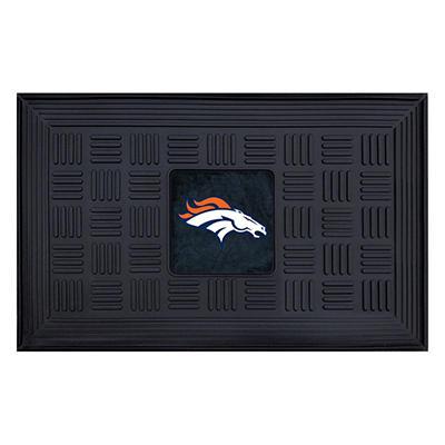 "NFL Denver Broncos Medallion Door Mat - 19"" x 30"""