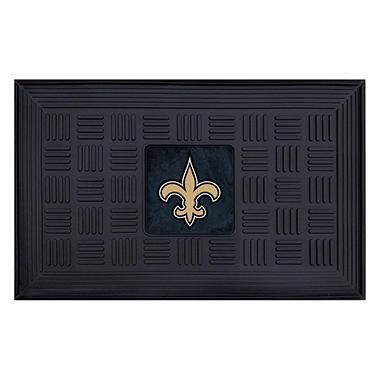 NFL New Orleans Saints Medallion Door Mat - 19