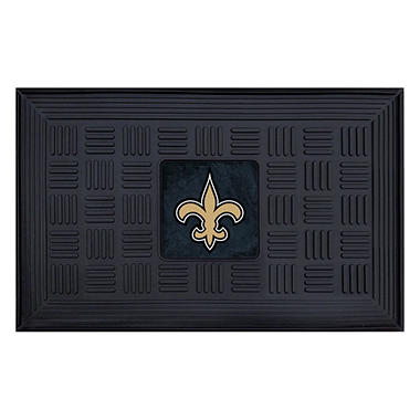 "NFL New Orleans Saints Medallion Door Mat - 19"" x 30"""