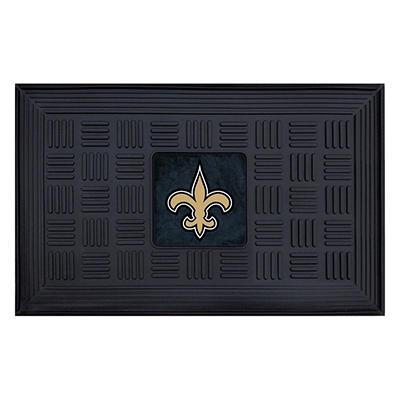 "NFL New Orleans Saints Medallion Door Mat - 19"" x 30"""