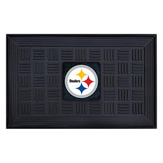 "NFL Pittsburgh Steelers Medallion Door Mat - 19"" x 30"""