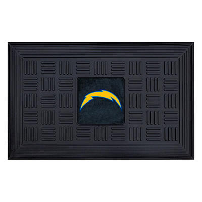 "NFL San Diego Chargers Medallion Door Mat 19"" x 30"""