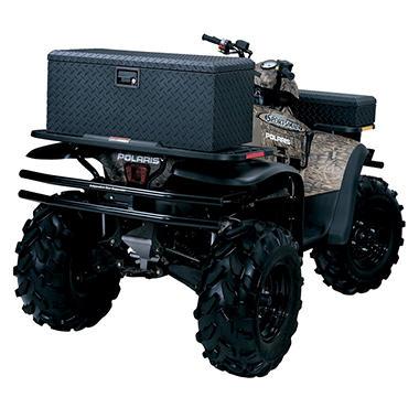Tradesman Side Bin Truck Tool Box - Black Aluminum - Full/Mid Size - Single Lid - 32