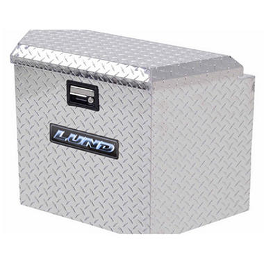 "Tradesman - 21"" Trailer Tongue Box - Aluminum"