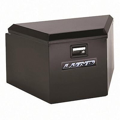 Lund 76234 21-Inch 16-Gauge Steel Trailer Tongue Box, Black