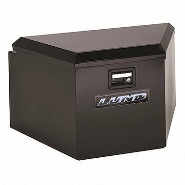 "Tradesman - 21"" Trailer Tongue Box - Black Steel"