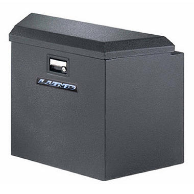 "Tradesman - 16"" Trailer Tongue Box - Black Steel"