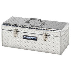 "Lund 24"" Aluminum Diamond Plated Handheld Tool Box - Silver (Save 10% Now)"