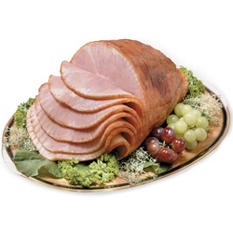 Smithfield Double Honey Glazed Spiral Half Ham (8-10 lb.)