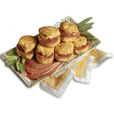 Smithfield Country Ham Slices (8 oz.), Sweet Potato Biscuits (12 ct.)