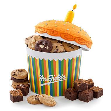 Mrs. Fields Happy Birthday Cupcake Gift