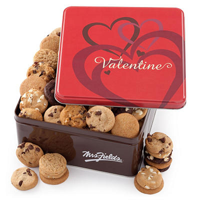 Alder Creek - Mrs. Fields Valentine Tin (112 Nibblers )