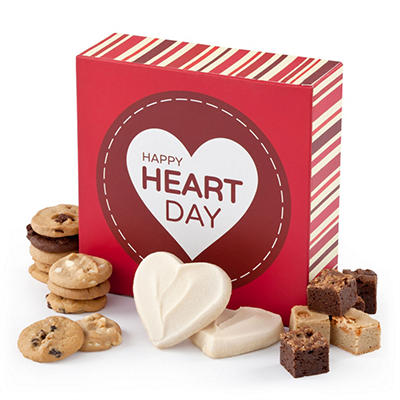 Alder Creek - Mrs. Fields Heart Day Bites Box