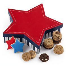 Mrs. Fields Stars & Stripes Cookie Box