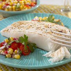 Wild Caught Halibut Steaks (8 oz., 6 pk.)