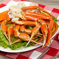 Wild Caught Snow Crab Clusters (4 lbs.)