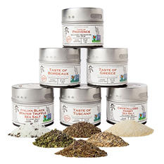 Gustus Vitae Luxury Gourmet Seasoning & Salt Collection