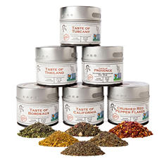 Gustus Vitae Salt-Free Gourmet Seasoning Collection