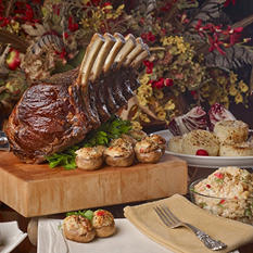 Six Bone Frenched Prime Rib Meal (12-13 lb.)