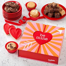 Mrs. Fields Valentine Be Mine Love Box