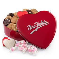 Mrs. Fields Medley Heart Tin