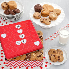 Mrs. Fields Be Mine Tin (60 Nibblers)