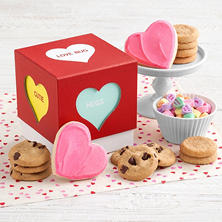 Mrs. Fields Conversation Hearts Box