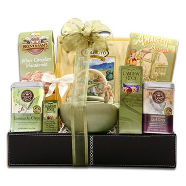 Alder Creek Gift Baskets Holiday Tea Latte Set