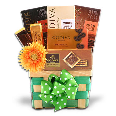 Alder Creek Godiva Chocolate Temptation Gift Basket
