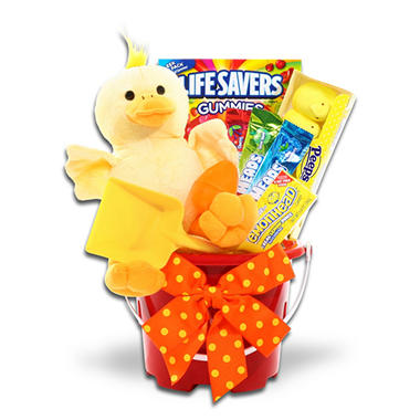 Ducky Easter Pail - Sand Pail with Shovel
