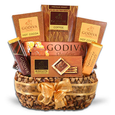 Alder Creek Godiva Coffee Delights Basket