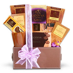 Alder Creek Godiva Coffee and Chocolates Gift Box
