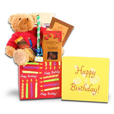 Alder Creek Godiva Birthday Gift Box