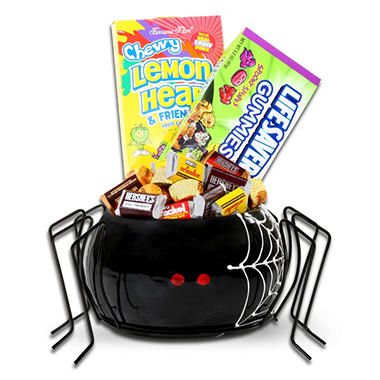 Alder Creek Ceramic Spider Candy Bowl