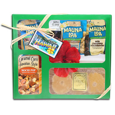 Alder Creek Gift Baskets Flavors of Hawaii Set