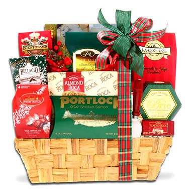 Traditional Holiday Gift Basket