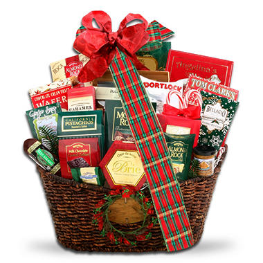 Grand Holiday Traditions Gift Basket