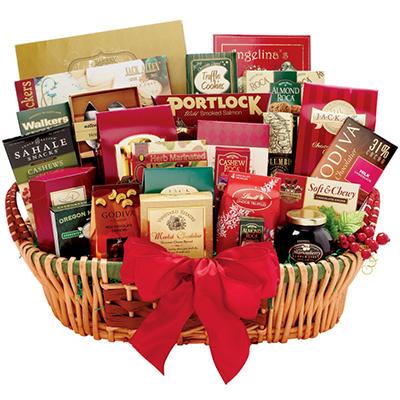 Alder Creek Gourmet Extravagance Gift Basket